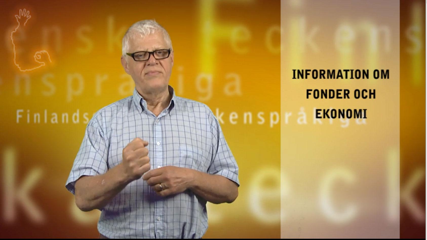 Information om fonder och ekonomi
