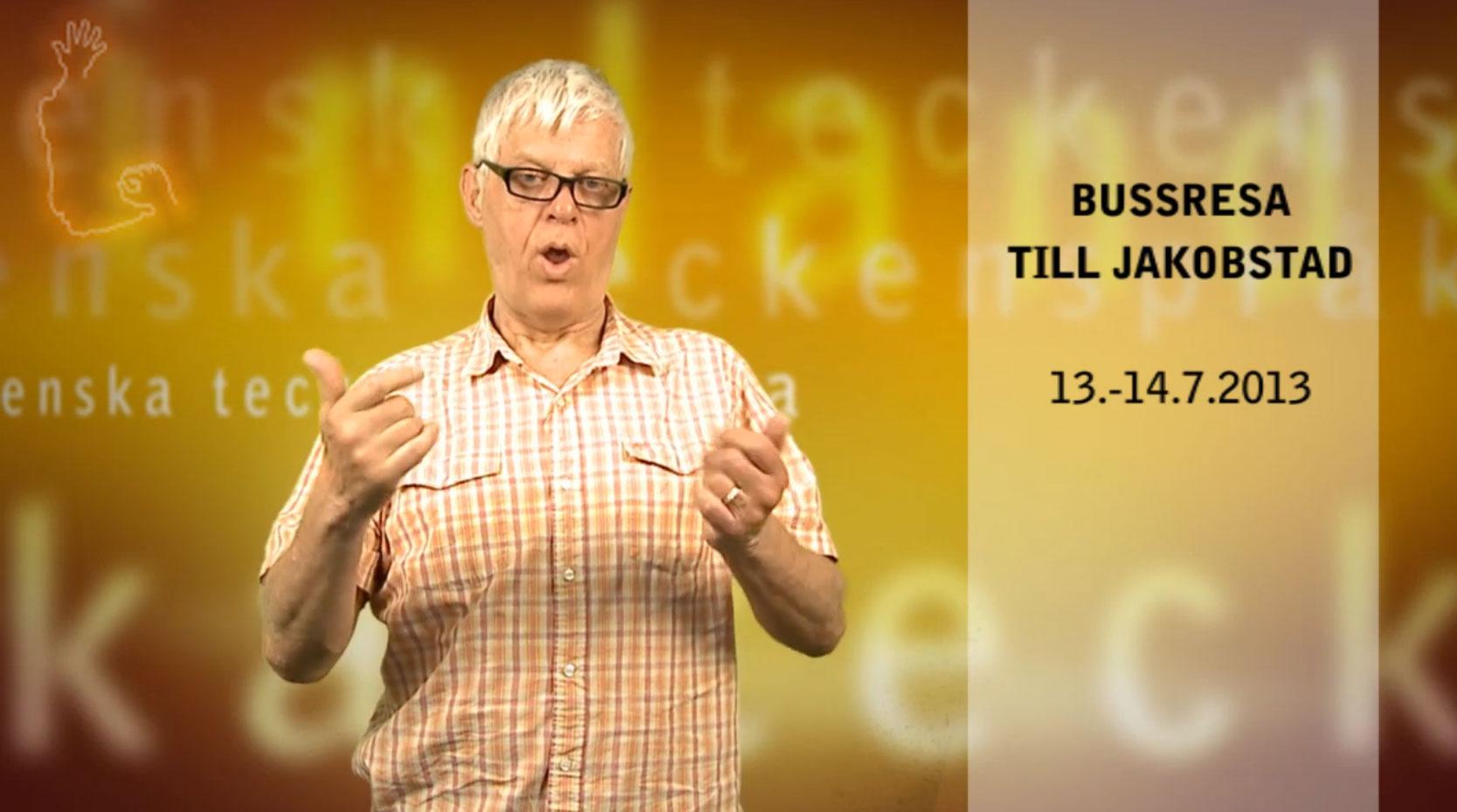 Bussresa till Jakobstad | 13.-14.7.2013