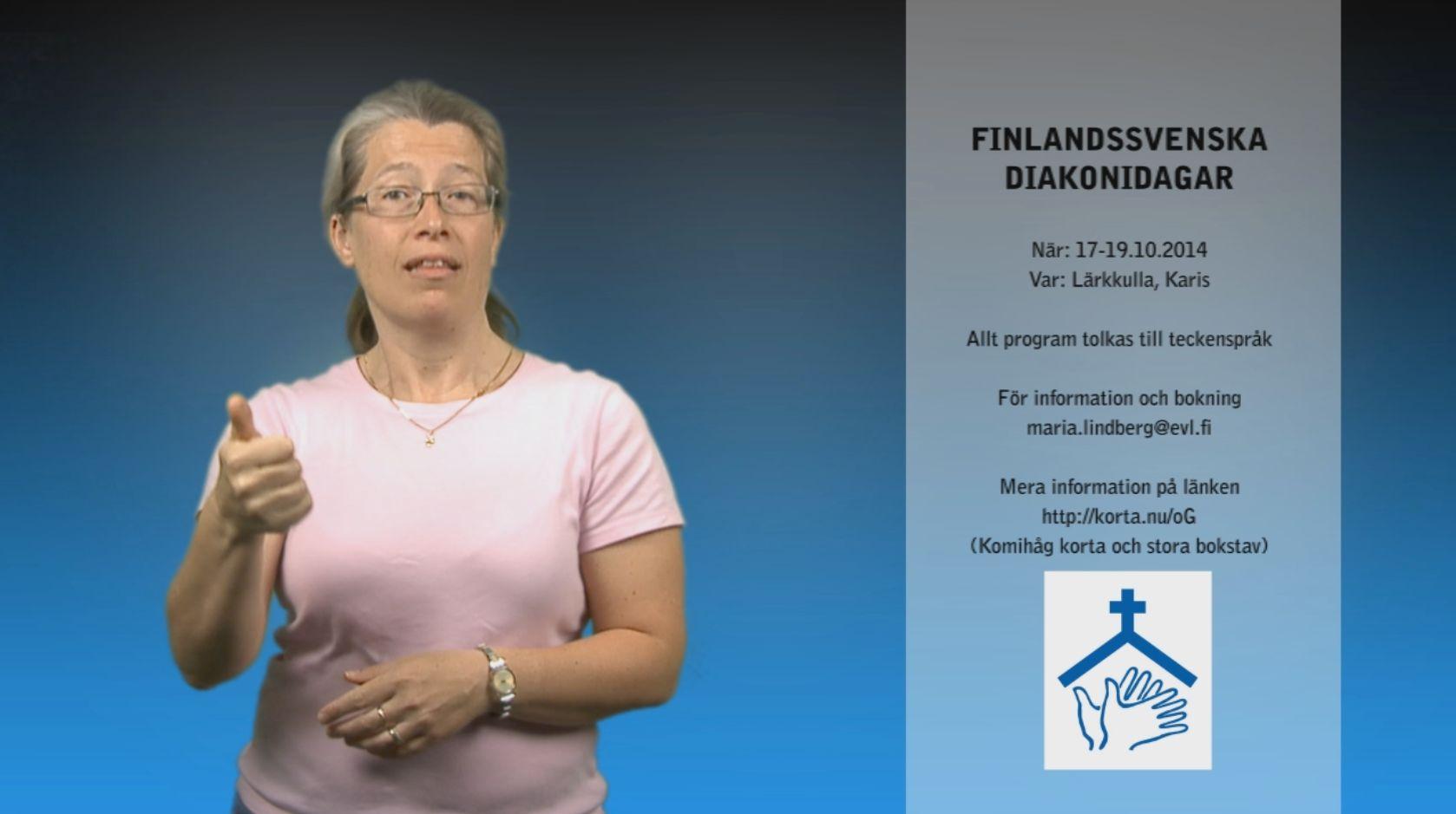 Finlandssvenska diakoniadagar