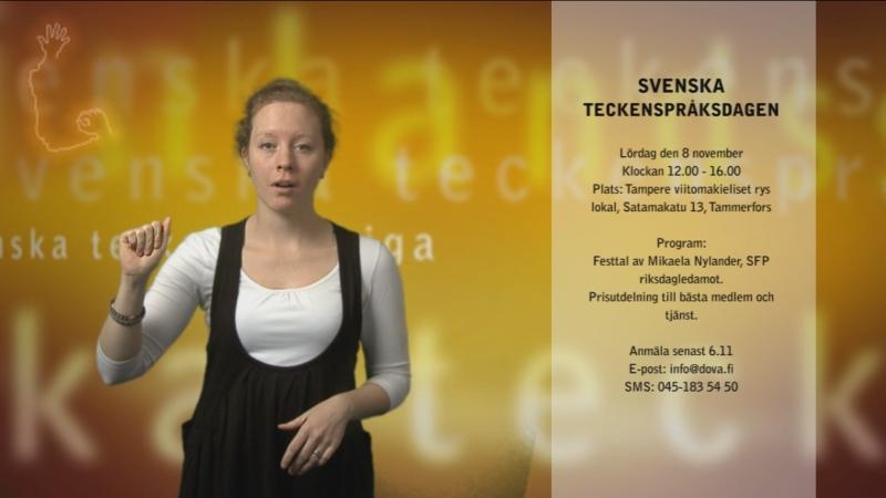 Svenska teckenspråksdagen