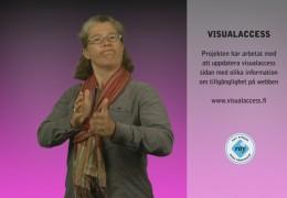 Projekt accola – Visualaccess öppnad igen