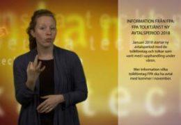 FPA tolktjänst ny avtalsperiod 2018 - Magdalena Kintopf-Huuhka