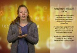 Föreläsning om Alvar Aalto - Magdalena Kintopf-Huuhka