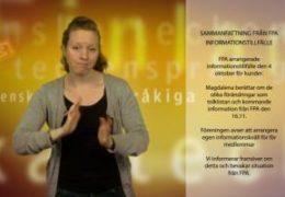 Sammanfattning från FPAs informationstillfälle - Magdalena Kintopf-Huuhka