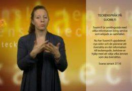 Suomi.fi - Enkät om sidor på teckenspråk - Magdalena Kintopf-Huuhka
