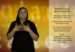 Presentation av Maja Andersson - Maja Andersson
