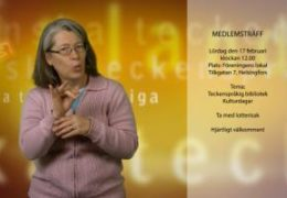 Medlemsträff - 17 februari - Lena Wenman