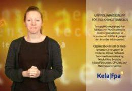 FPAs uppföljningsgrupp för tolkningstjänster - Magdalena Kintopf-Huuhka