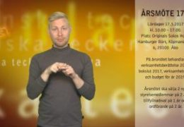 Årsmöte 17.3 - Robin Hänninen
