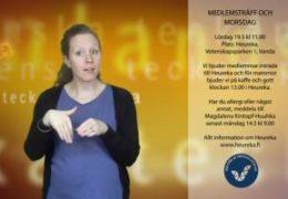 Medlemsträff Heureka och morsdagkaffe - Magdalena Kintopf-Huuhka