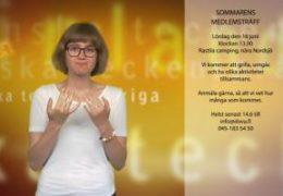Sommarens medlemsträff - Elin Westerlund