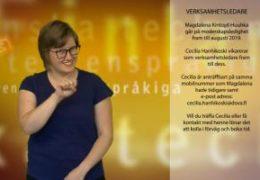 Information om verksamhetsledare - Magdalena Kintopf-Huuhka och Cecilia Hanhikoski