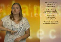 Riksomfattande tävling i kunskap och färdigheter för döva husmödrar - Maja Andersson