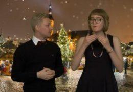 Julfest i Tallinn - Robin Hänninen och Elin Westerlund