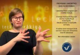 Jakobstad 16.12 - Cecilia Hanhikoski