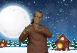 Finlandssvenska teckenspråkiga rfs julhälsning - Lena Wenman