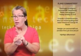 Sommarträff i Åland - Lena Wenman