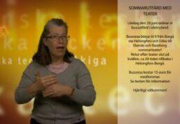 Bussutfärd med teater i västnyland - Lena Wenman