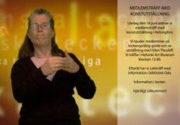 Medlemsträff med konstutställning - Lena Wenman