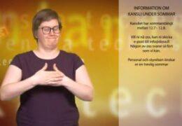 Information om kansli under sommar - Cecilia Hanhikoski