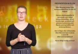 Presentation av Ellen Wenman