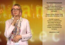 Teckenspråksdagen 2019 - Elin Westerlund