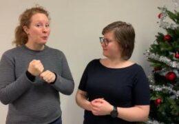Förändring hos föreningen - Magdalena Kintopf-Huuhka och Cecilia Hanhikoski