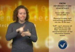 Information om senior (STEA) träffar - Magdalena Kintopf-Huuhka